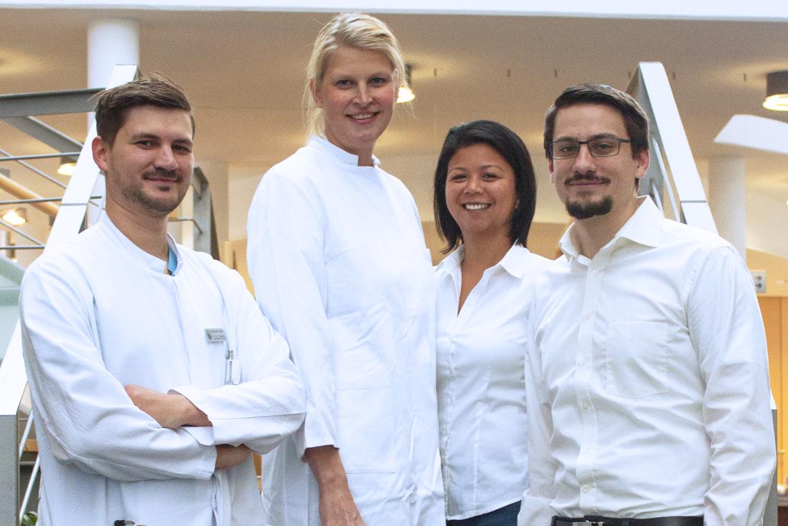 Gruppenfoto AG Heine