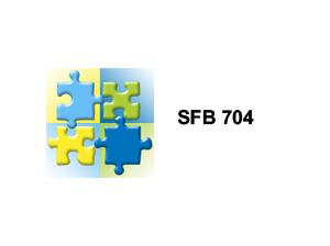 Kooperationspartner sfb 704
