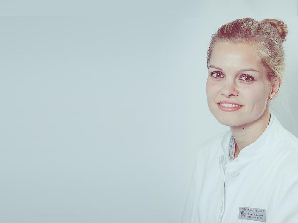 Portrait Assistenzärztin Dr. Charlotte Krausewitz