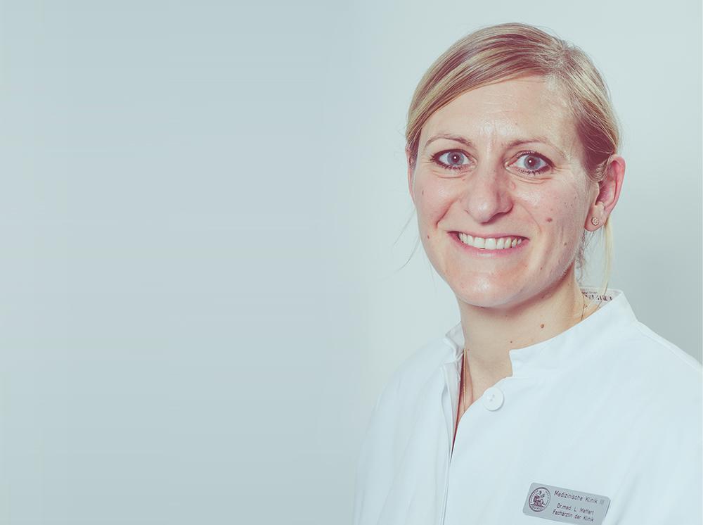 Portrait Assistenzärztin Dr. Lisa Meffert