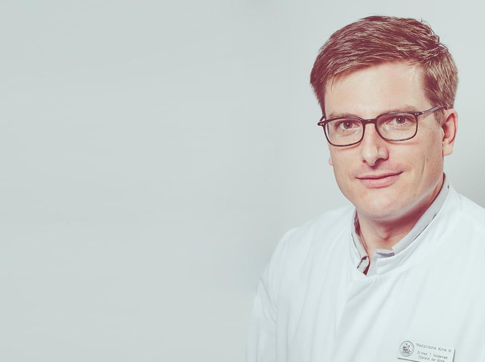 Portrait von Dr. Tobias Holderried